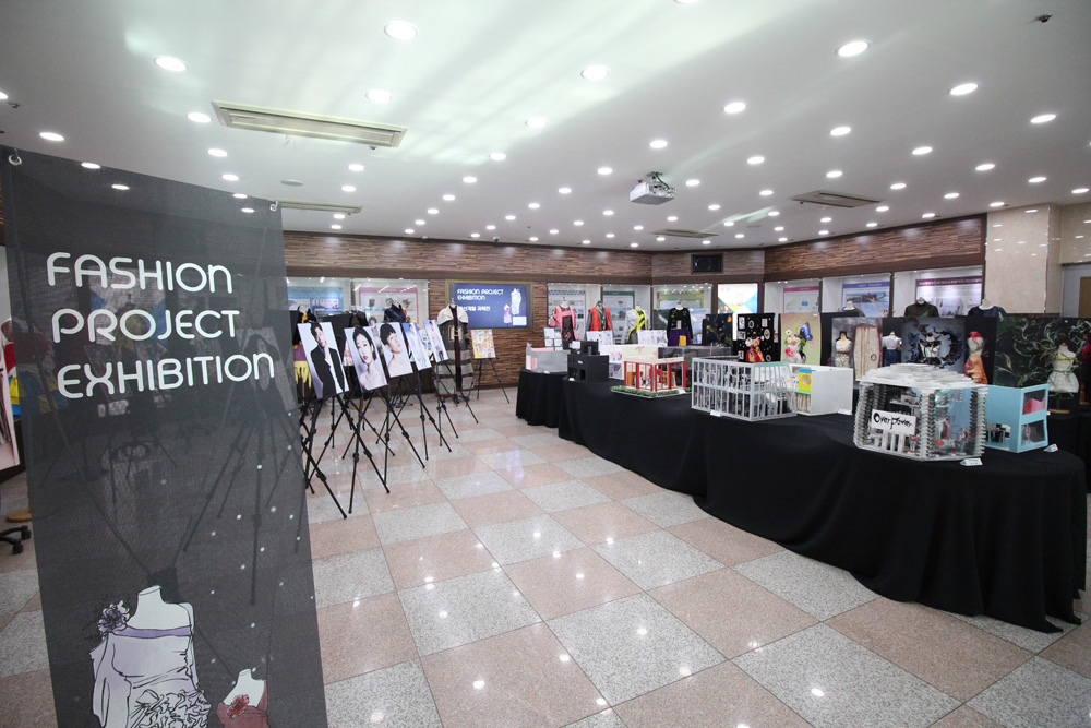패션계열 FASHION PROJECT EXHIBITION 개최