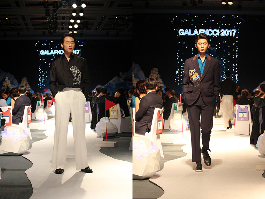 패션예술계열 특임교수 양해일 디자이너 한불상공회의소 주최 패션쇼 및 재학생 모델 · 스텝 참여