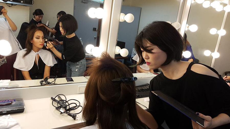 [내외경제TV] 서울직업전문학교, ''2018 미스 퀸 코리아'' 메이크업&헤어 스타일링 파견지원