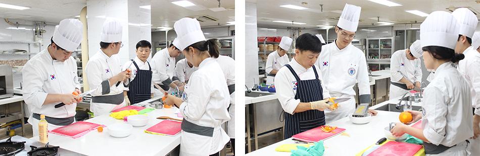[교통신문] 서울직업전문학교 호텔조리전공 과정, 연어요리 실습특강