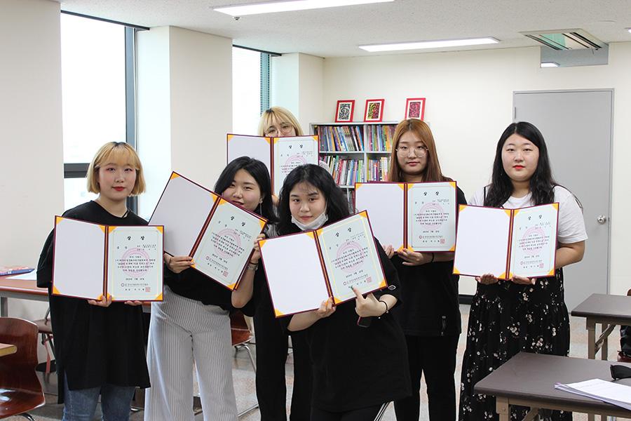 [데일리그리드] 서울직업전문학교 뷰티예술계열 ''''K-뷰쳐 미용컨테스트'''' 대회 대거 수상