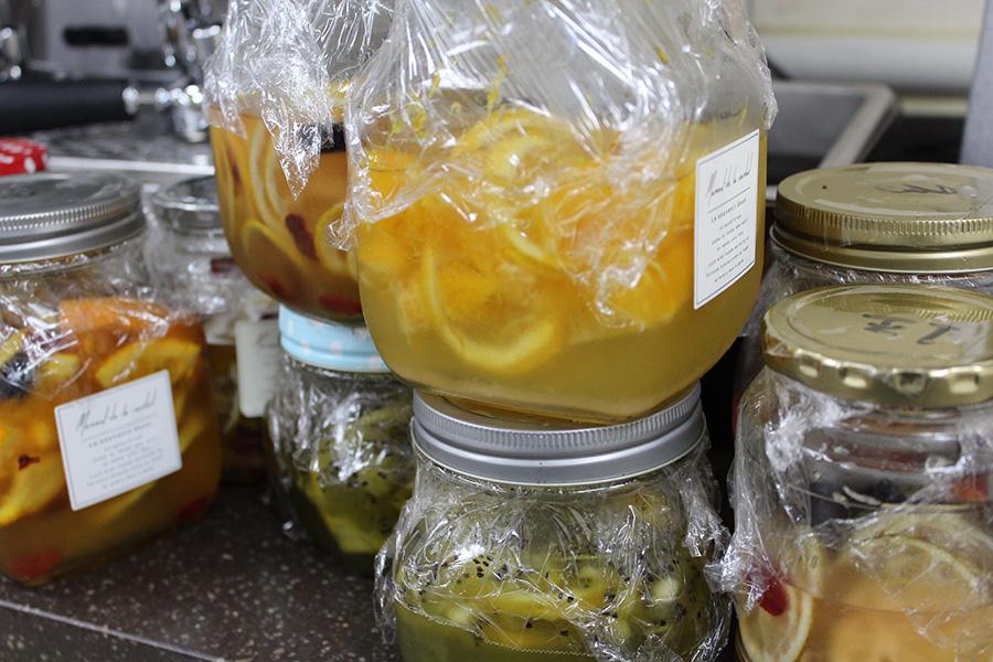 수제 과일청으로 만든 에이드와 브런치 메뉴
