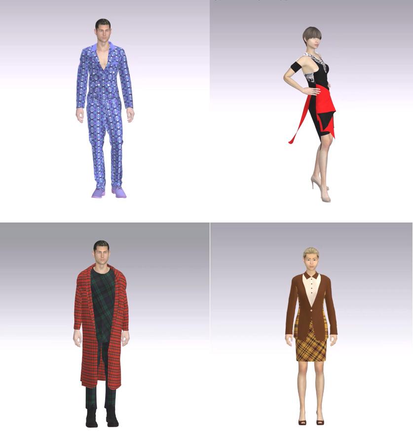 CLO 3D를 활용한 패션디자인 작품