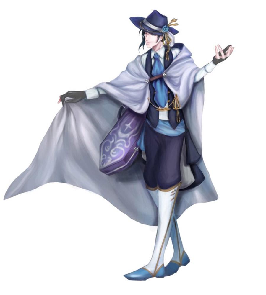 게임캐릭터디자인 - 마법악사