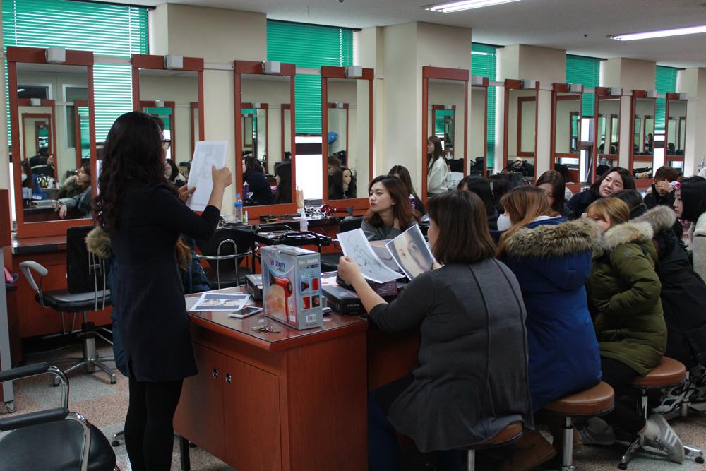 2015 F/W 서울패션위크 박종철디자이너 패션쇼 헤어메이크업 담당 실습