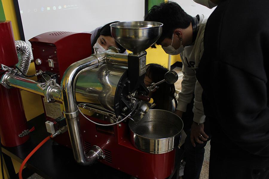 커피배전(로스팅:Roasting)