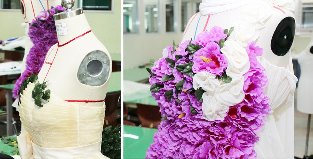 세종시 주최 무궁화패션쇼 의상 디자인 및 제작